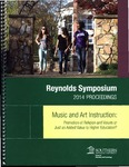 2014 Proceedings: Music and Art Instruction