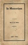 In Memoriam: Booklet about E. G. White's Funeral, 1915