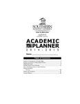 Southern Adventist University Undergraduate Handbook & Planner 2014-2015