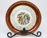 Royal China Company Colonial Plate by Royal China Company