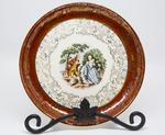 Royal China Company Colonial Plate