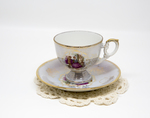 Unkown Tea Cup Set Resembling Lefton Company China