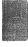 A. H. Hutchinson Civil War Diary