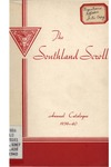 Southern Junior College Catalogue 1939-1940
