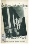 Southern Junior College Catalogue 1941-1942