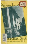 Southern Junior College Catalogue 1943-1944
