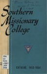 Southern Missionary College Catalog 1953-1954 by Southern Missionary College