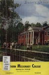 Southern Missionary College Catalog 1954-1955 by Southern Missionary College