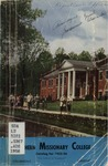 Southern Missionary College Catalog 1955-1956