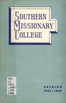 Southern Missionary College Catalog 1957-1958 by Southern Missionary College