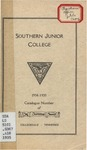 Southern Junior College Catalogue 1934-1935 by Southern Junior College