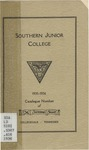 Southern Junior College Catalogue 1935-1936
