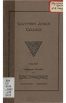 Southern Junior College Catalogue 1936-1937 by Southern Junior College
