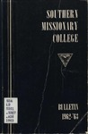 Southern Missionary College Annual Bulletin 1962-1963