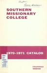 Southern Missionary College 1970-1971 by Southern Missionary College