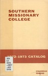 Southern Missionary College Catalog 1972-1973 by Southern Missionary College