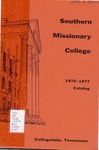 Southern Missionary College 1976-1977 by Southern Missionary College