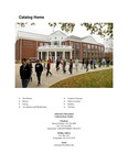 Southern Adventist University Undergraduate Catalog 2012-2013