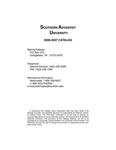 Southern Adventist University Undergraduate Catalog 2006-2007