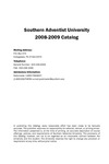 Southern Adventist University Undergraduate Catalog 2008-2009 by Southern Adventist University