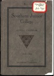 Southern Junior College Annual Calendar 1919-1920
