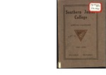 Southern Junior College Annual Calendar 1921-1922