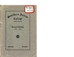 Southern Junior College Annual Calendar 1923-1924