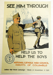 See Him Through by Burton Rice and National Catholic War Council
