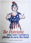 Be Patriotic by Paul Stahr and U.S. Food Administration