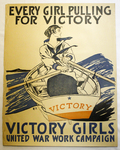 Every Girl Pulling for Victory by Edward Penfield and Unites States Government
