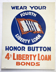 Wear Your Honor Button by United States Department of Treasury and United States Government