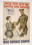 Help Him Win by Saving and Serving--Buy War Savings Stamps by United States Government