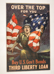 Over the top for you - Buy U.S. gov't bonds, Third Liberty Loan by Sidney Riesenberg